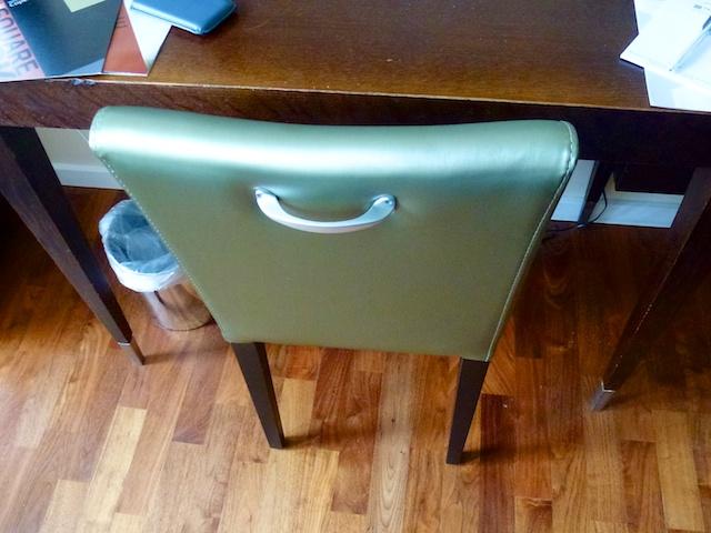 Handvat stoel