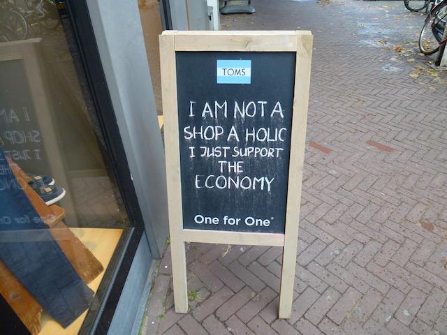No shop a holic