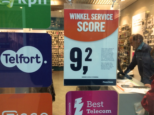 Service score