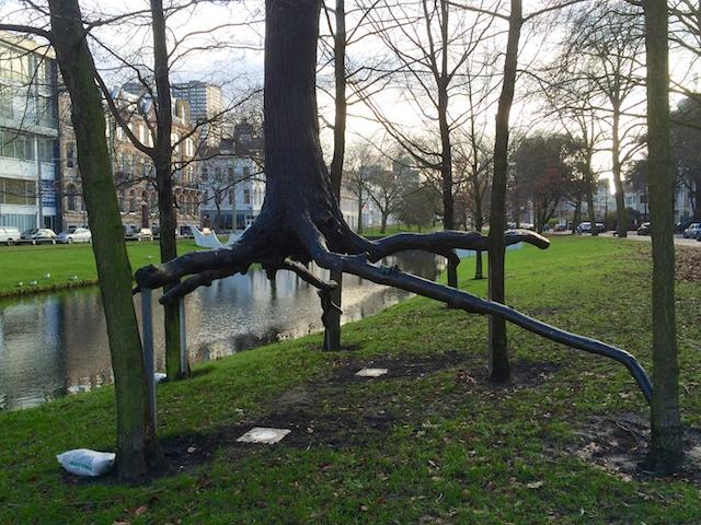 Zwevende boom
