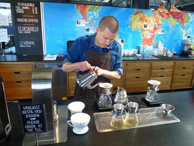 Handwerk koffie