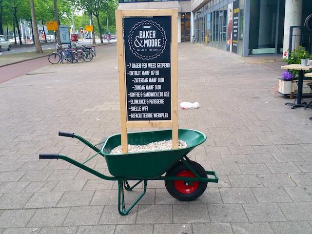 Kruiwagen-bord