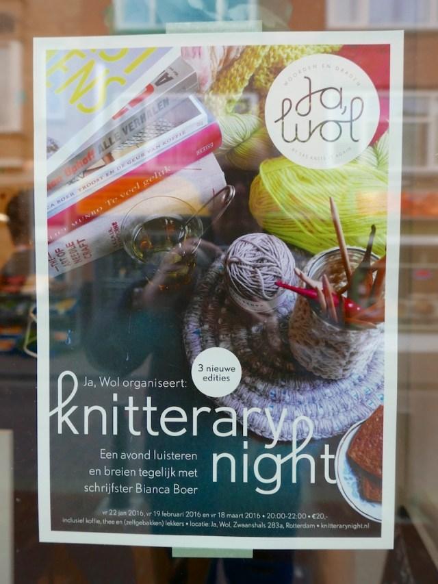 kniterary night