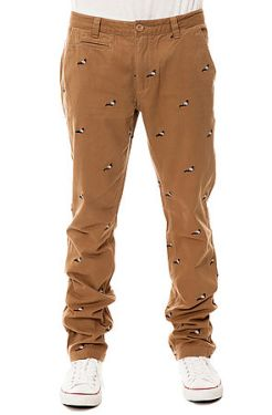Staple - The Pigeon Chino Pants in Khaki (US$84)