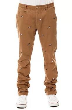 Staple - The Pigeon Chino Pants in Khaki (US$84)