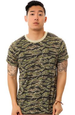 Obey - The Camo Pocket Tee in Tiger Camo (US$31)