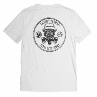 Thirdround Clothing - Subcrew X Made by Jahan R.A.D. Pocket Tee (white 2)