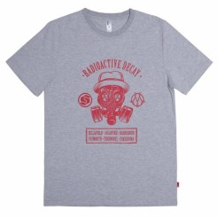 Thirdround Clothing - Subcrew X Made by Jahan Radioactive Decay Tee (grey)