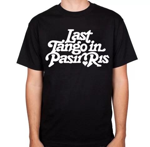 Last Tango in Pasir Ris Tee