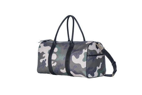 Voyager Duffel-Camouflage Green side $479