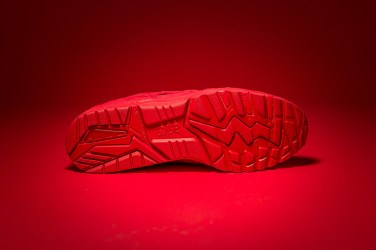 "Packer Shoes x ASICS Tiger GEL-KAYANO TRAINER ""Triple Red"""