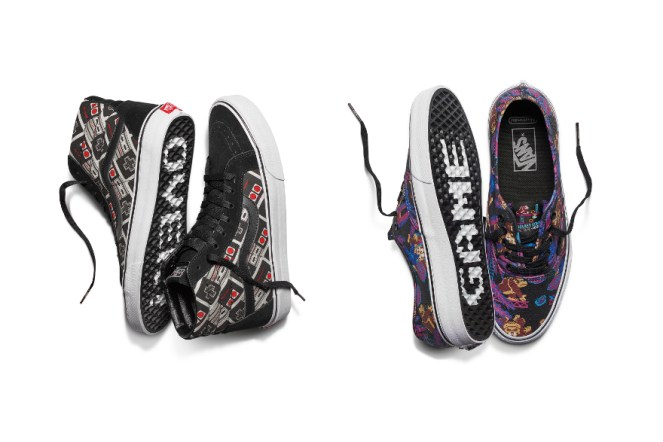 vans x nintendo. coming soon: vans x nintendo collection