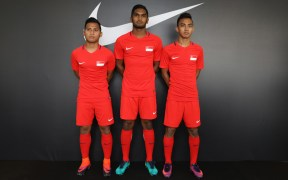 Singapore Lions Receive New National Team Kit