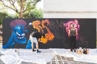 2017 Aliwal Urban Art Festival Graffiti