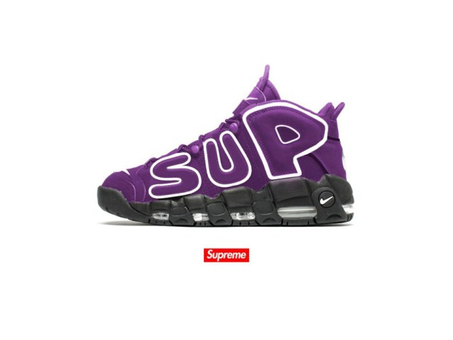 Supreme Turns Up the Heat on the Nike Uptempo