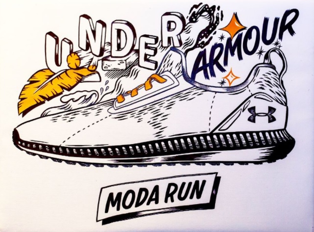 Under Armour Moda Run Low, Oak & Bindi Artwork Giveaway
