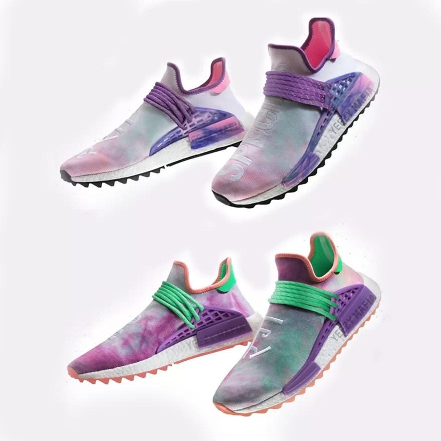 Pharrell Williams x adidas NMD 'Human Race' Releases 22.07