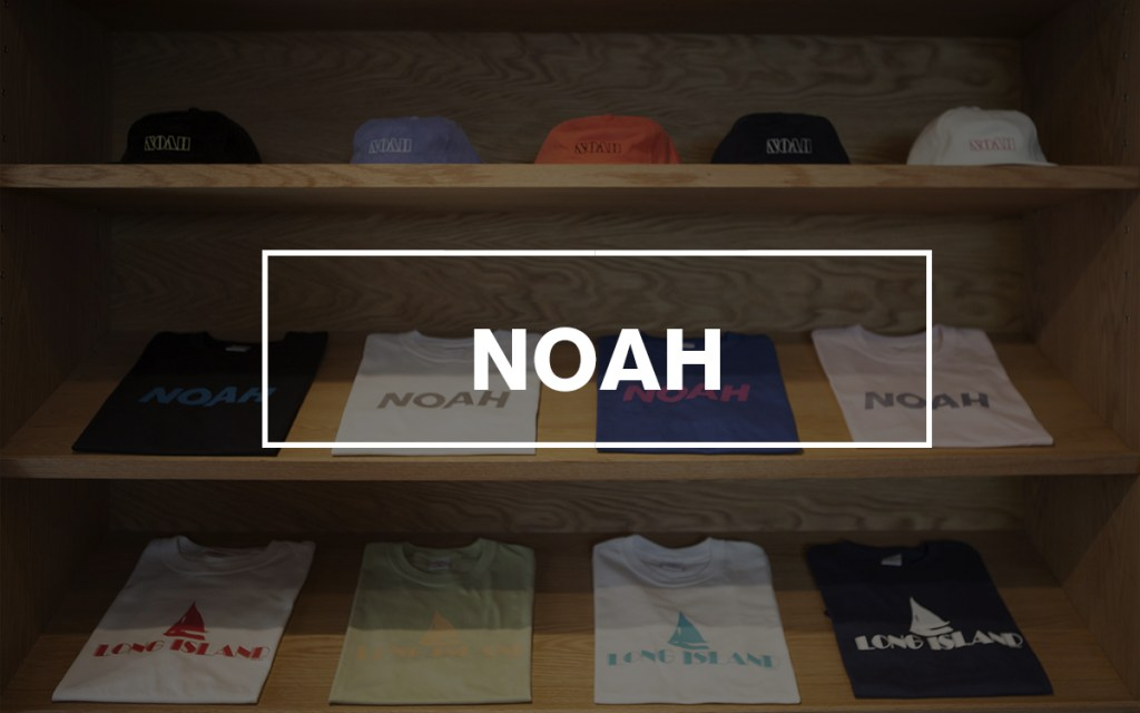 Noah streetwear sizing guide for asians size chart