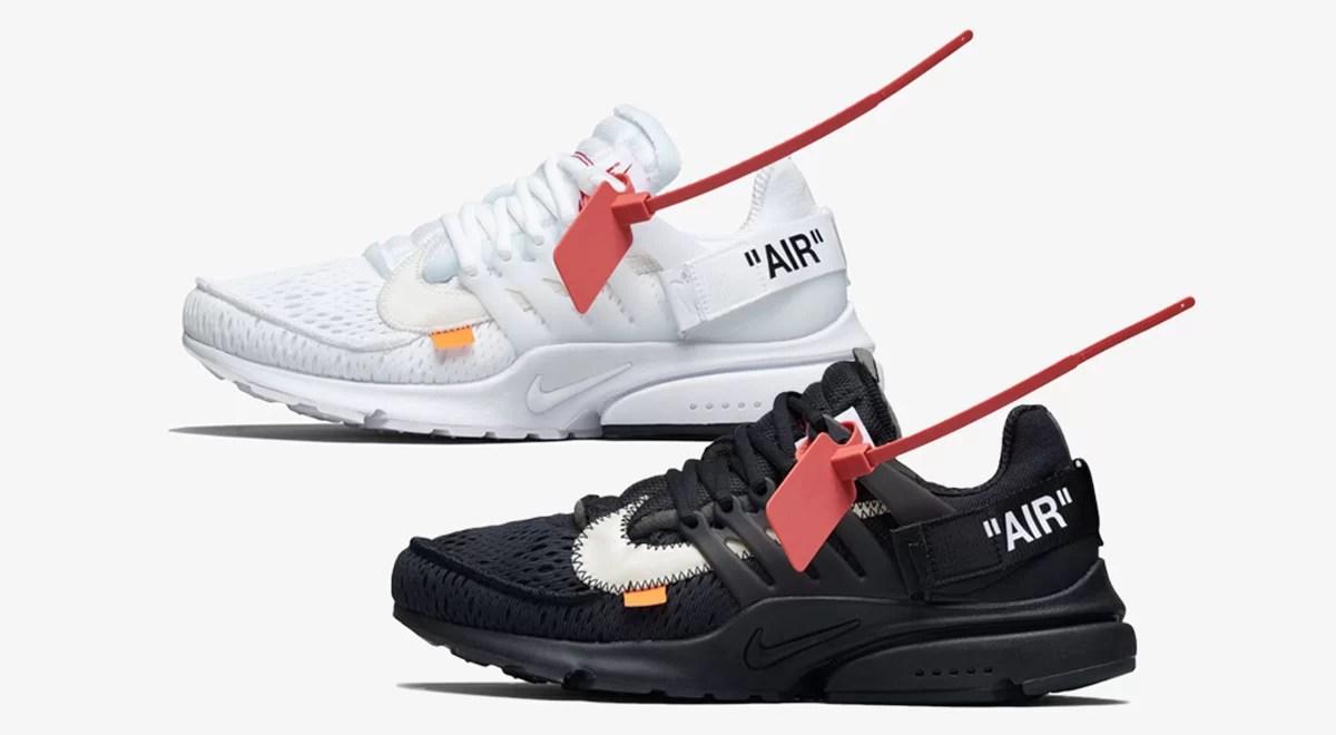 Nike x Off White Air Presto 2018: Get