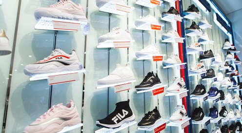 fila-vivocity-singapore-fila-shoe-wall