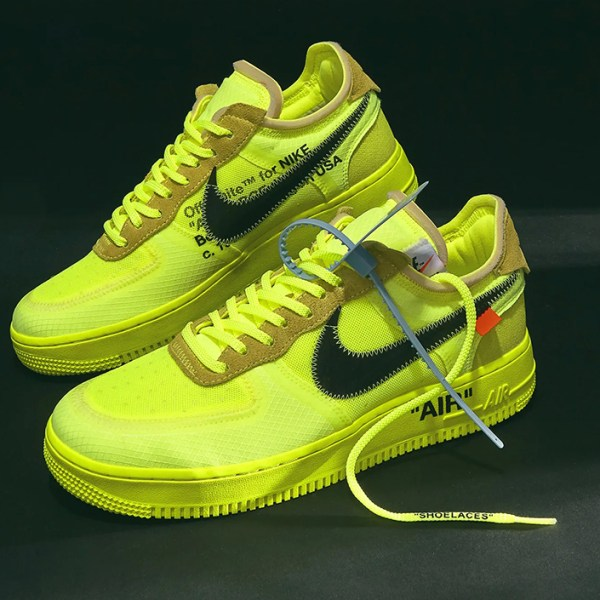 "Off-White x Nike Air Force 1: How to cop the upcoming additions to ""The Ten"""