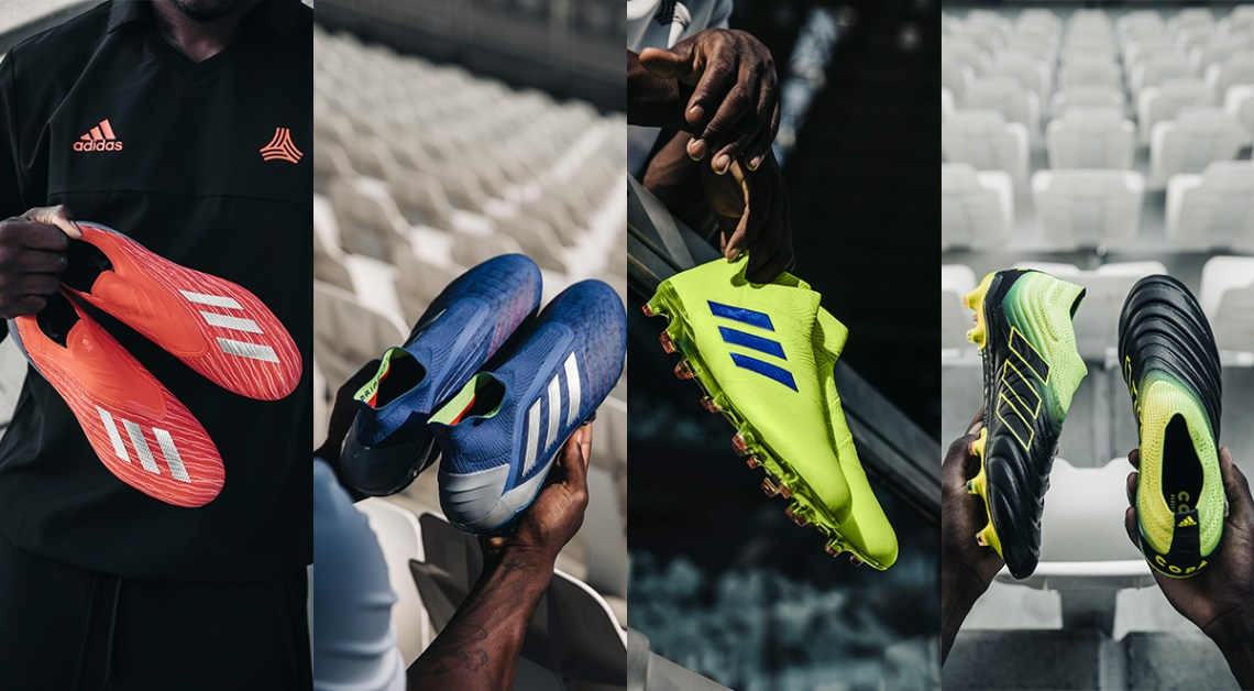 Adidas Football Exhibit pack messi pogba dybala salah