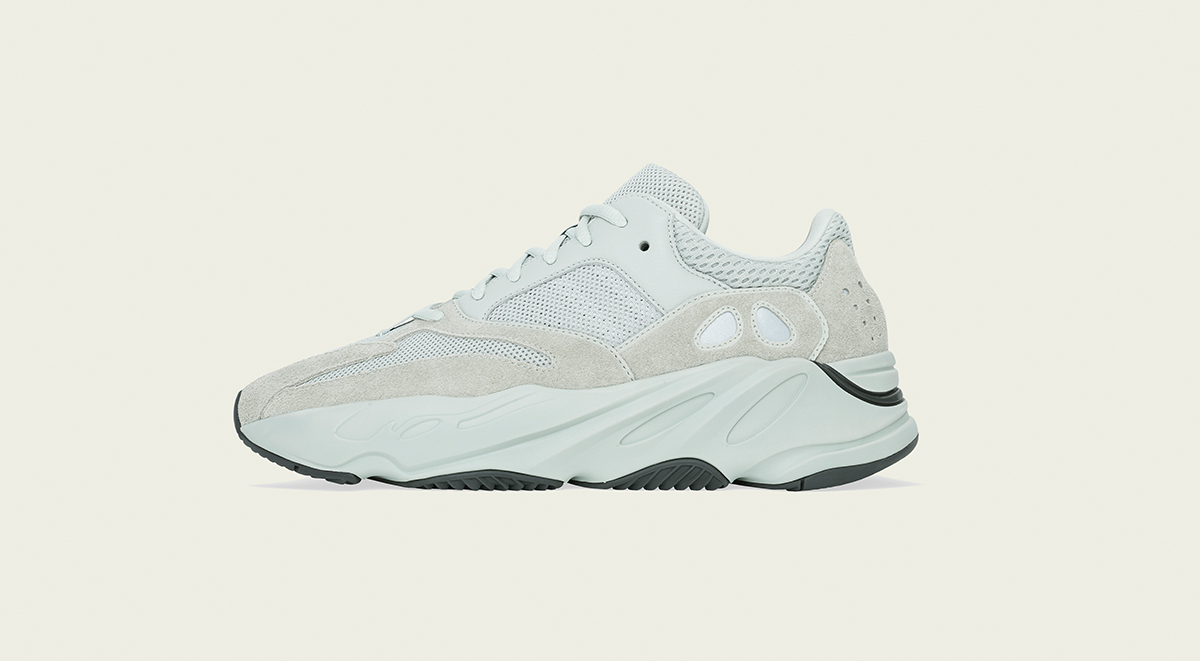 The Yeezy Boost 700 Salt Gets A Solid