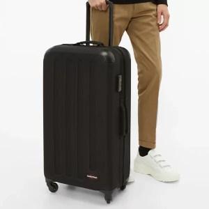 essential travel items eastpak luggage