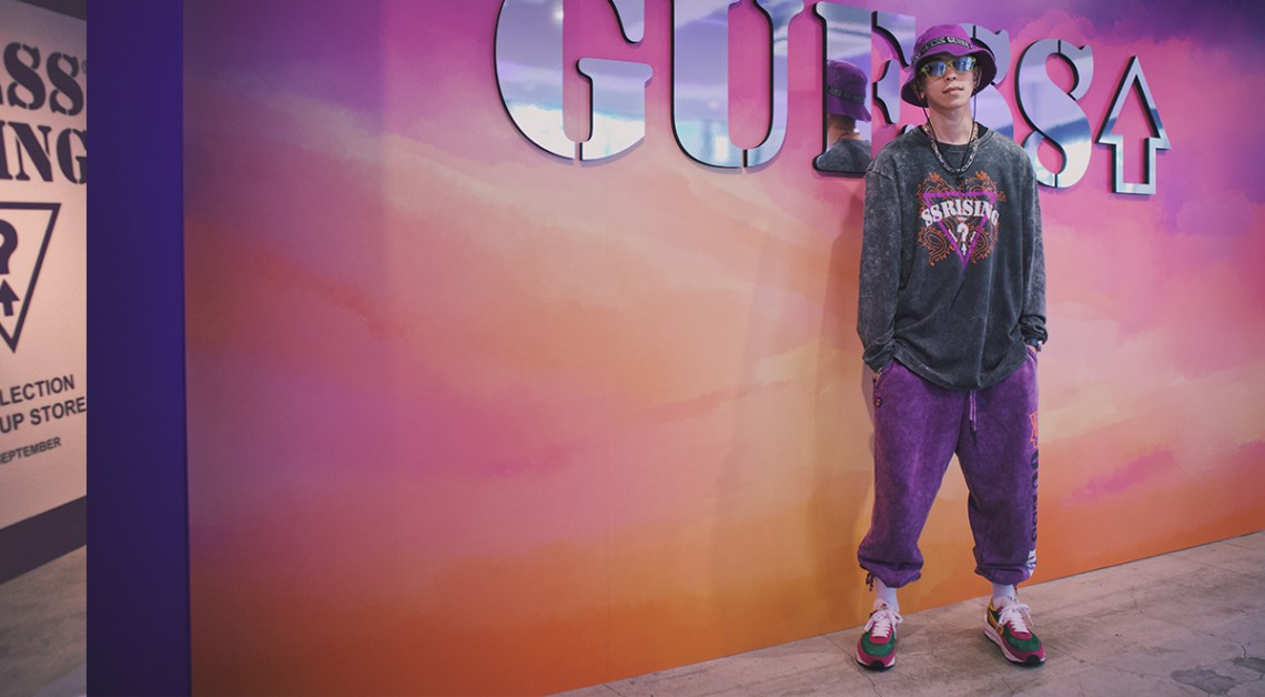 guess x 88rising japan launch street style spotting