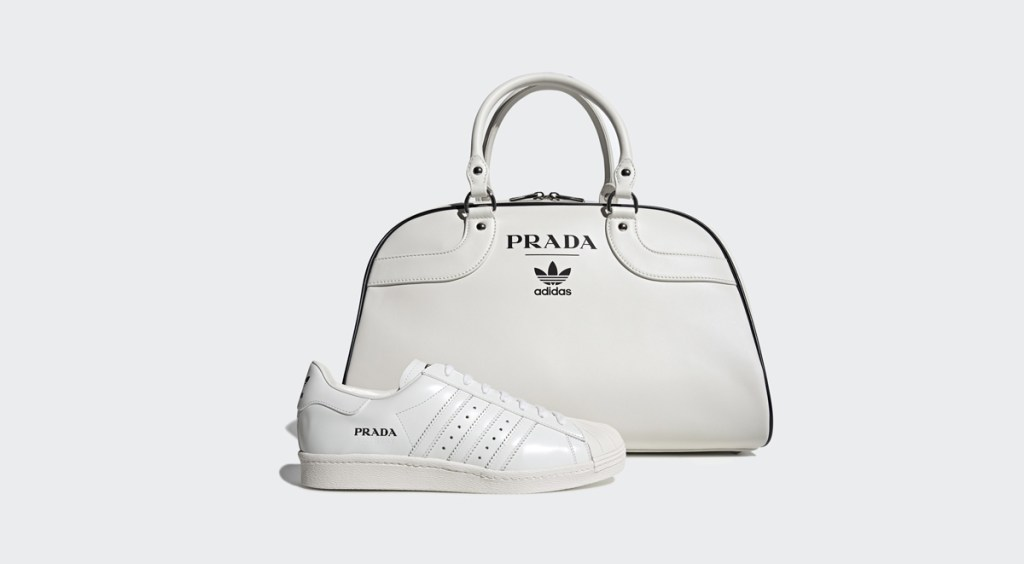 Adidas x Prada Superstar two-piece collection