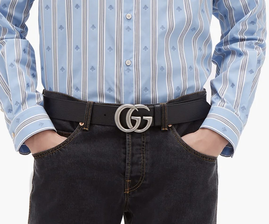 Christmas gift guide 2019 special gifts GG leather belt