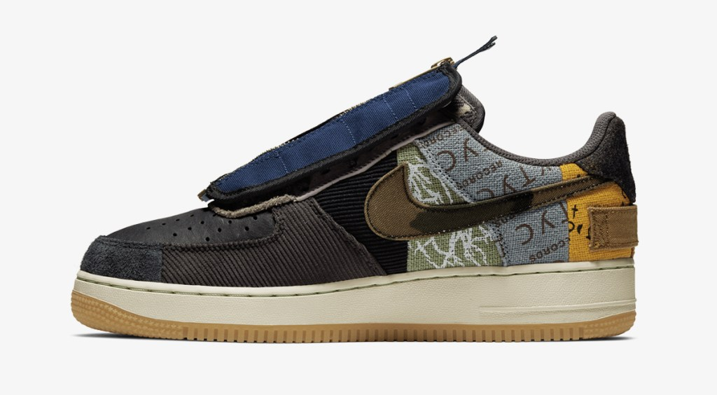 nike energy week footwear drops nike x travis scott air force 1 cactus jack 2019