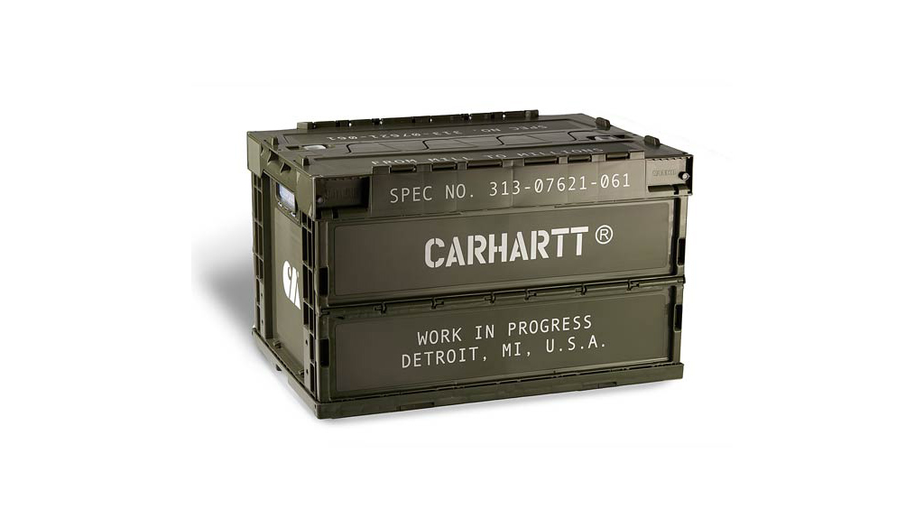 carhartt singapore store foldable storage container