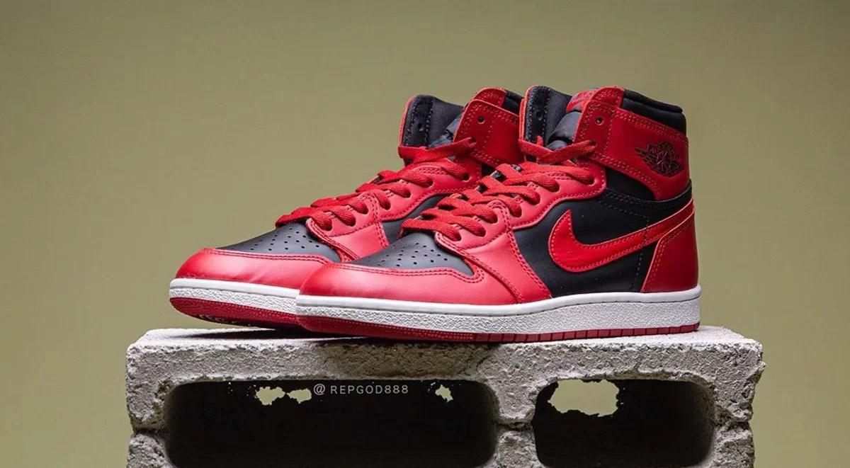 "The Air Jordan 1 Hi 85 ""Varsity Red"