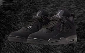 """Air Jordan 4 """"Black Cat"""" 2020 banner"""
