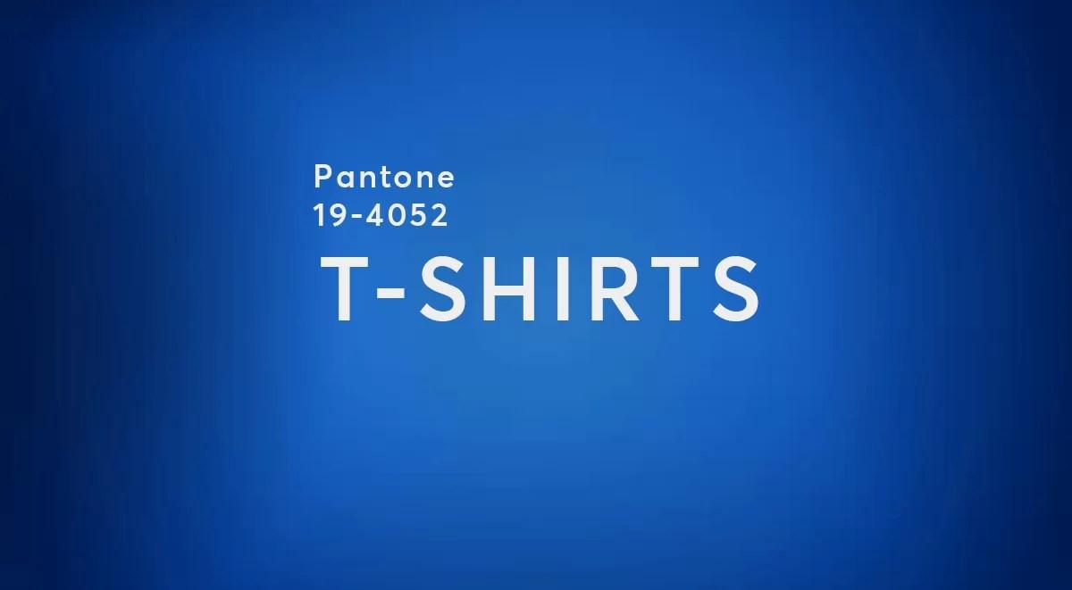 pantone 2020 blue Shopping Guide Banner tshirts