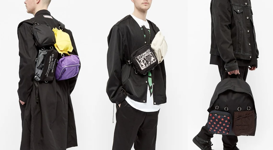 eastpak x raf simons spring summer 2020 10th bag collection singapore release