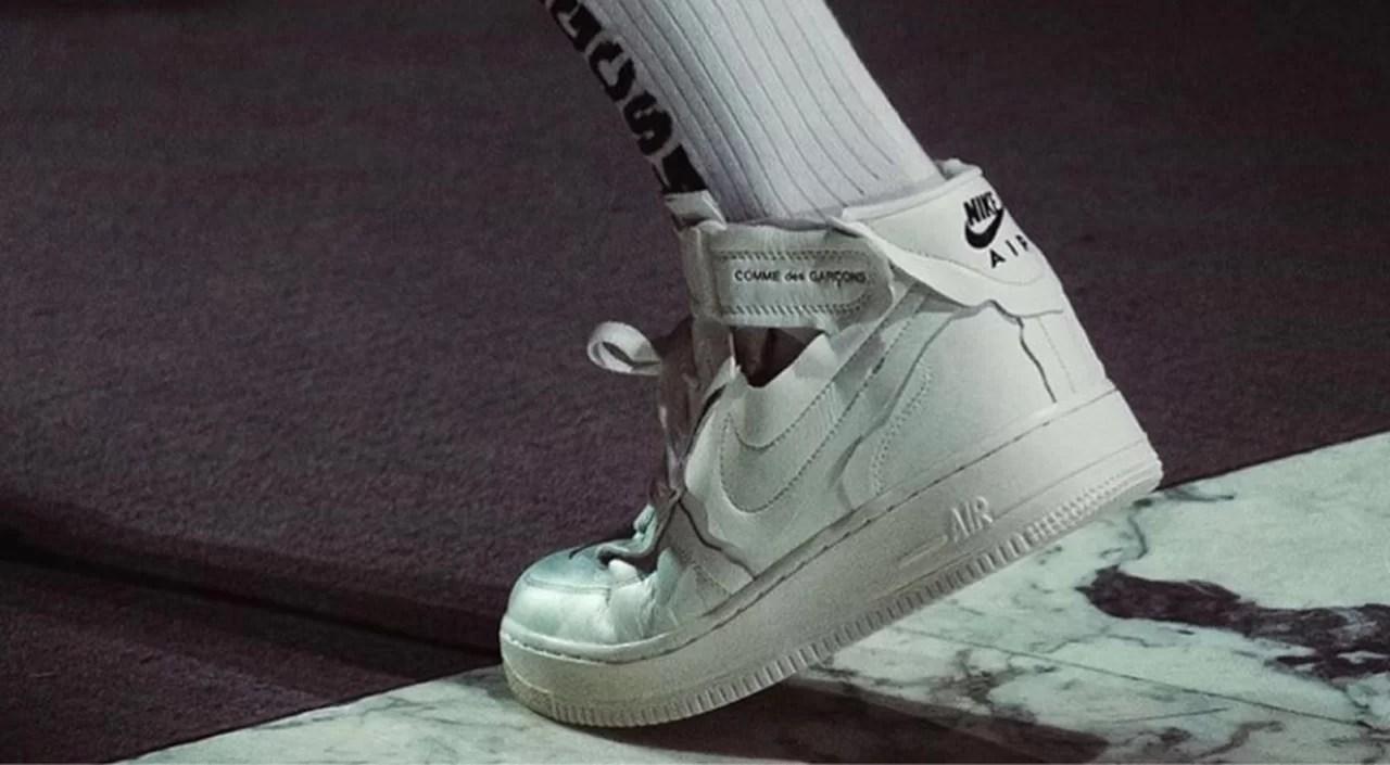 x Nike Air Force 1 Mid