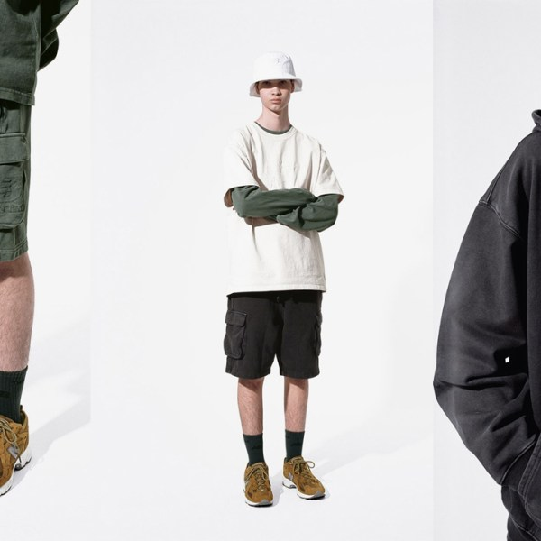 New Balance teams up with Thisisneverthat to drop a military-inspired collection