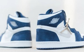 "Air Jordan 1 ""Midnight Navy"" heel"