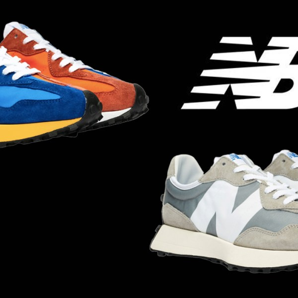 New Balance is releasing the 327 in two polar opposite colorways