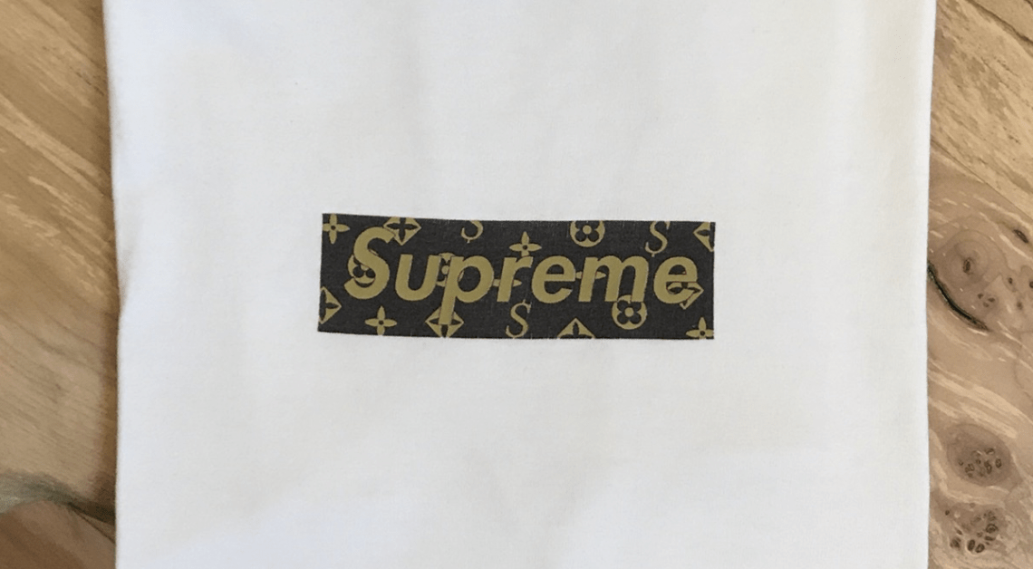 Supreme box logo louis vuitton tee 2000 history most valuable designs