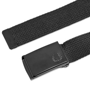 Father's Day Gift Guide 2020 FRED PERRY SLIM GRAPHIC WEBBING BELT