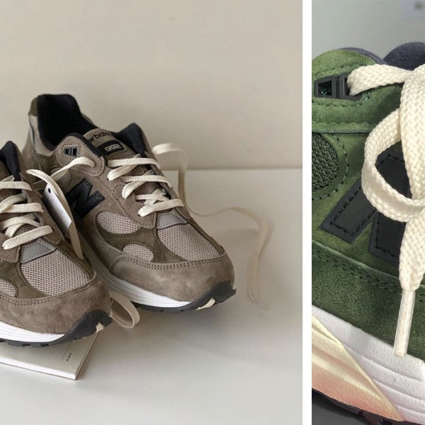 Canadian design studio, Jjjjoud, has a New Balance 992 in the works