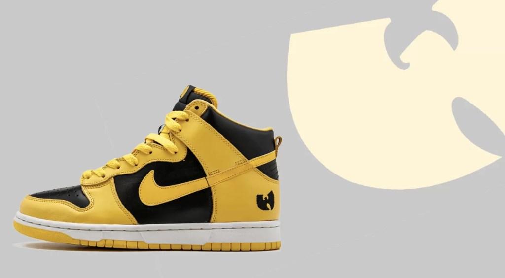 Nike Dunk High Black Maize Wu-Tang Dunk High
