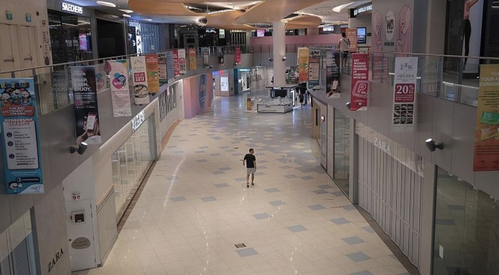 post circuit breaker shopping guide empty mall straits times