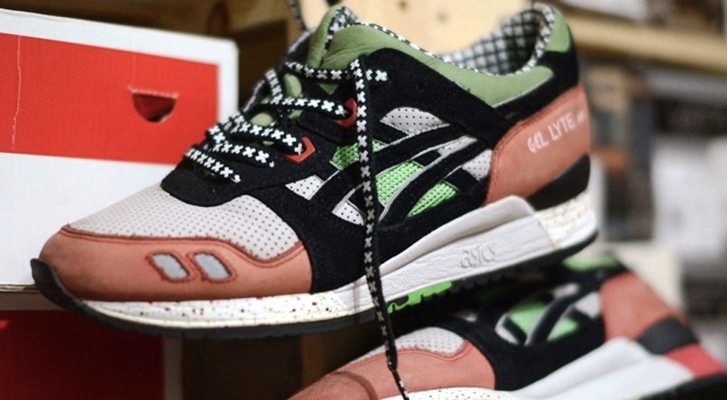 Asics Gel Lyte III collaborations patta x asics gel lyte III