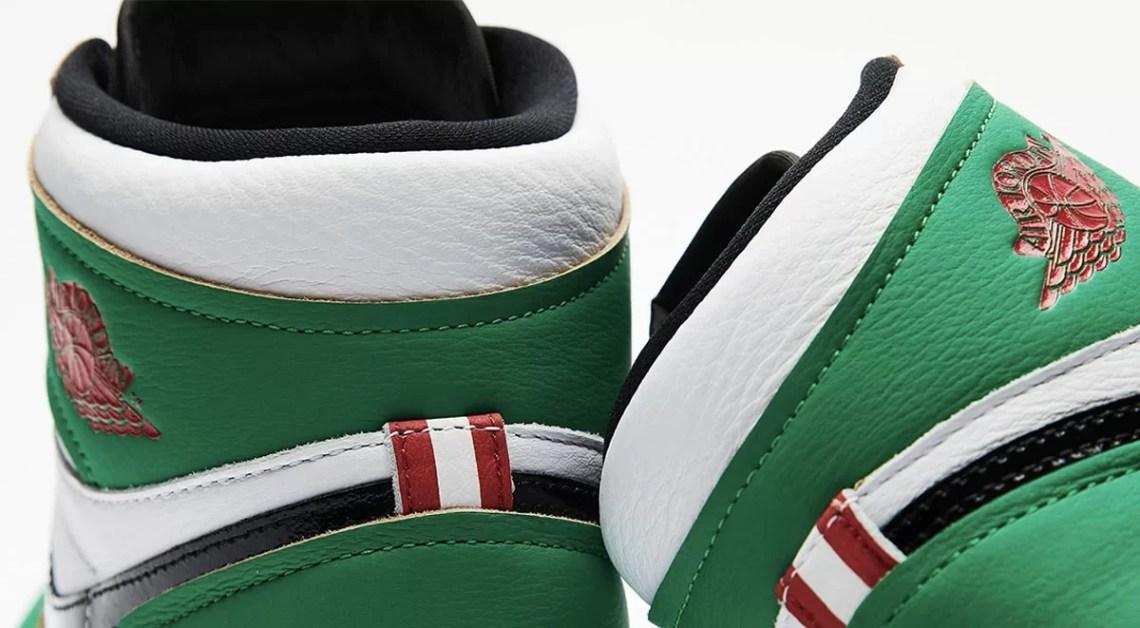 Air Jordan 1 Lucky Green Drops On October 15