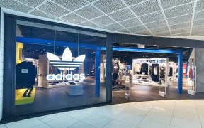 adidas Originals VivoCity flagship entrance