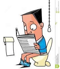 reading on loo